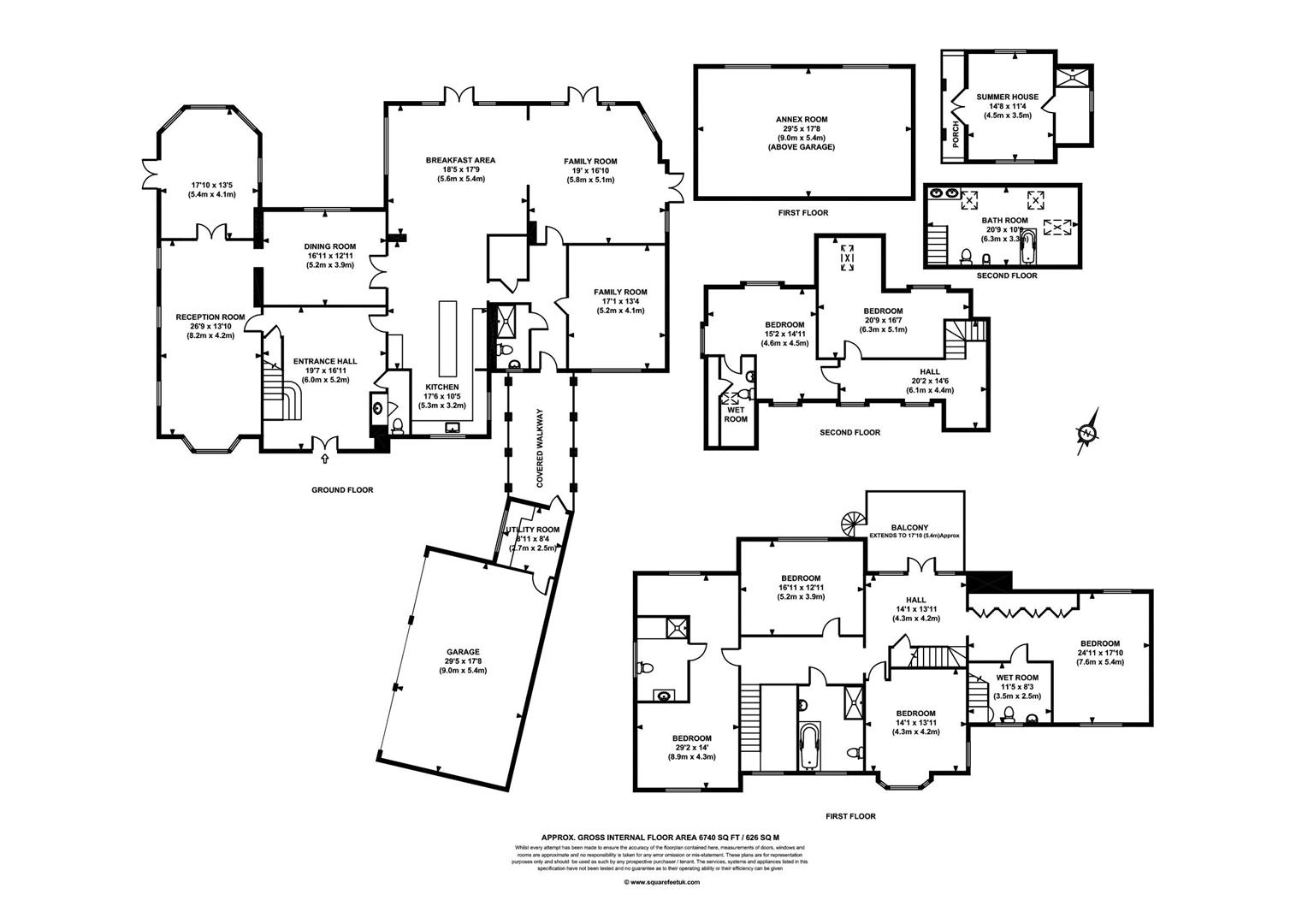 Floorplan for Silverdale Avenue, Ashley Park